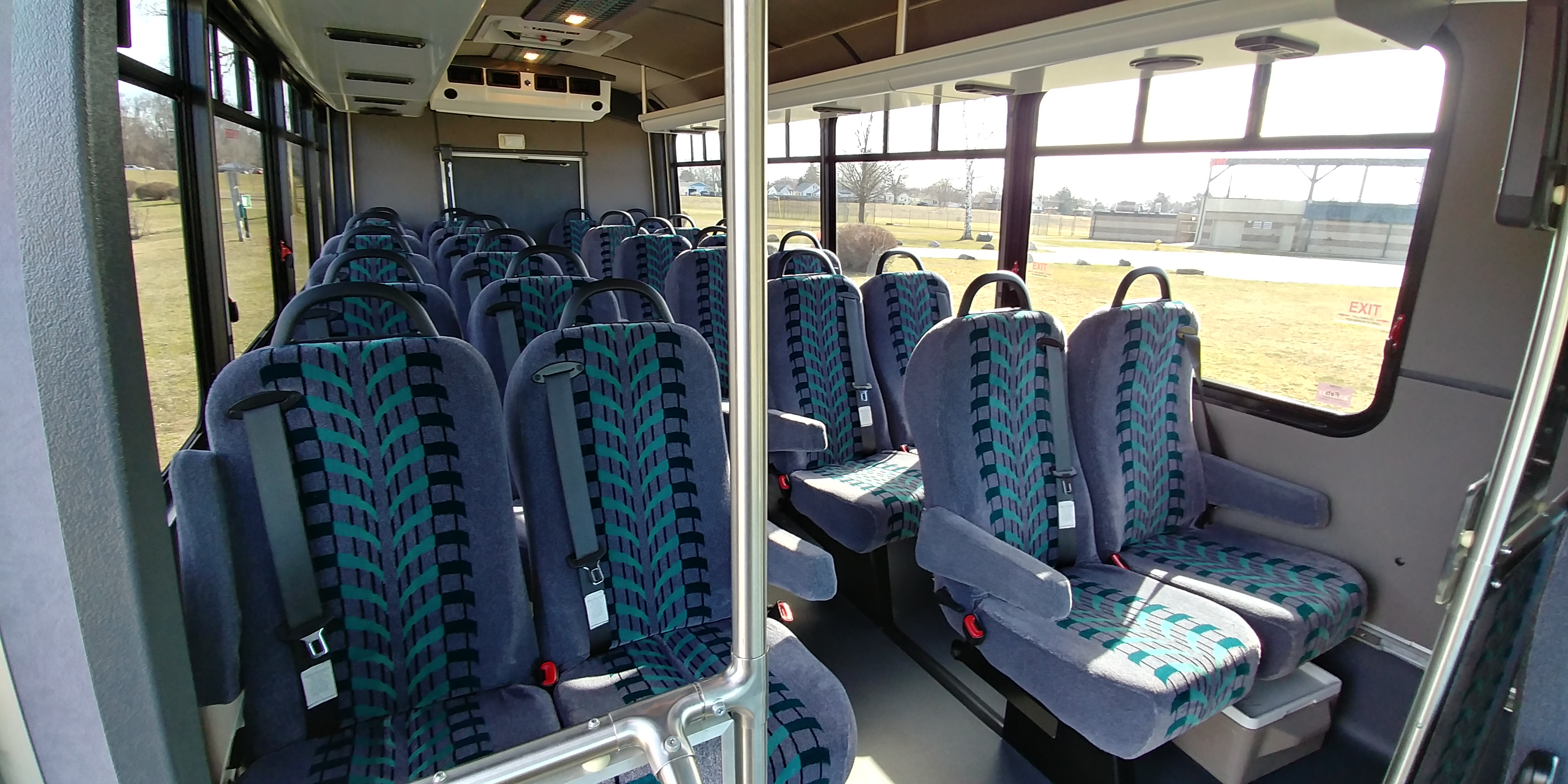 24 Passenger Executive Shuttle Bus Interior 3