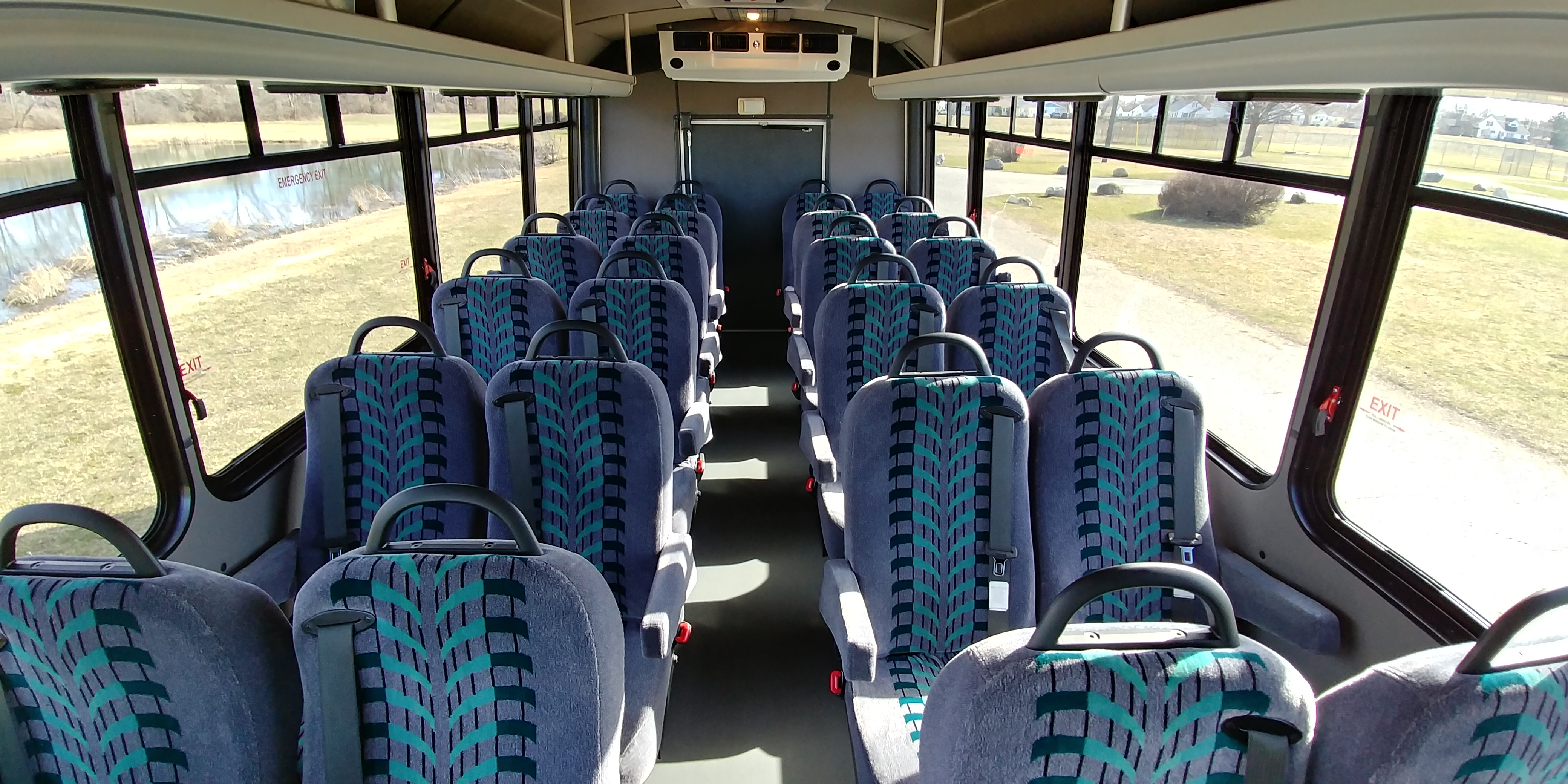 24 Passenger Executive Shuttle Bus Interior