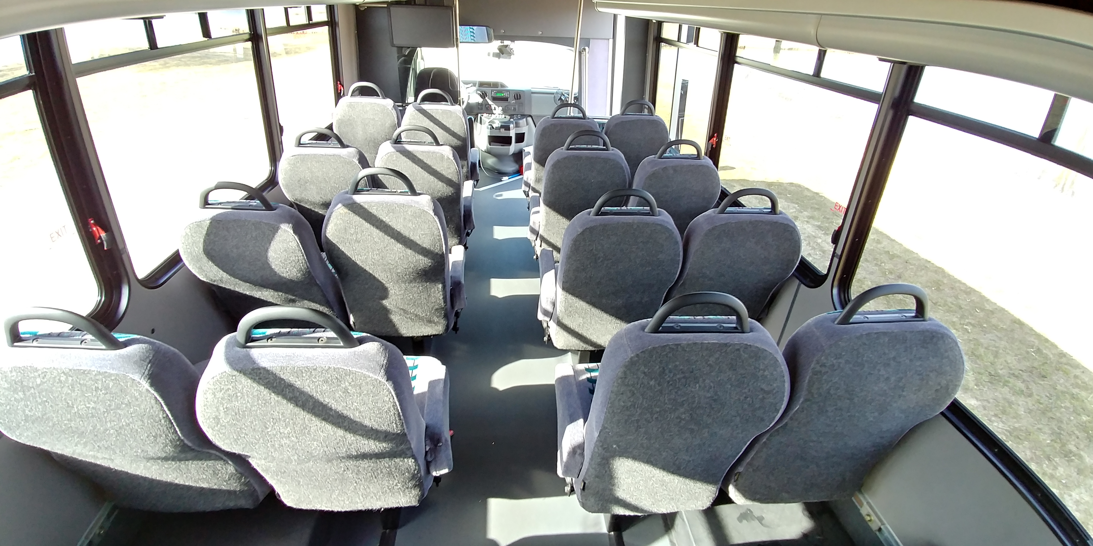 24 Passenger Executive Shuttle Bus Interior 2