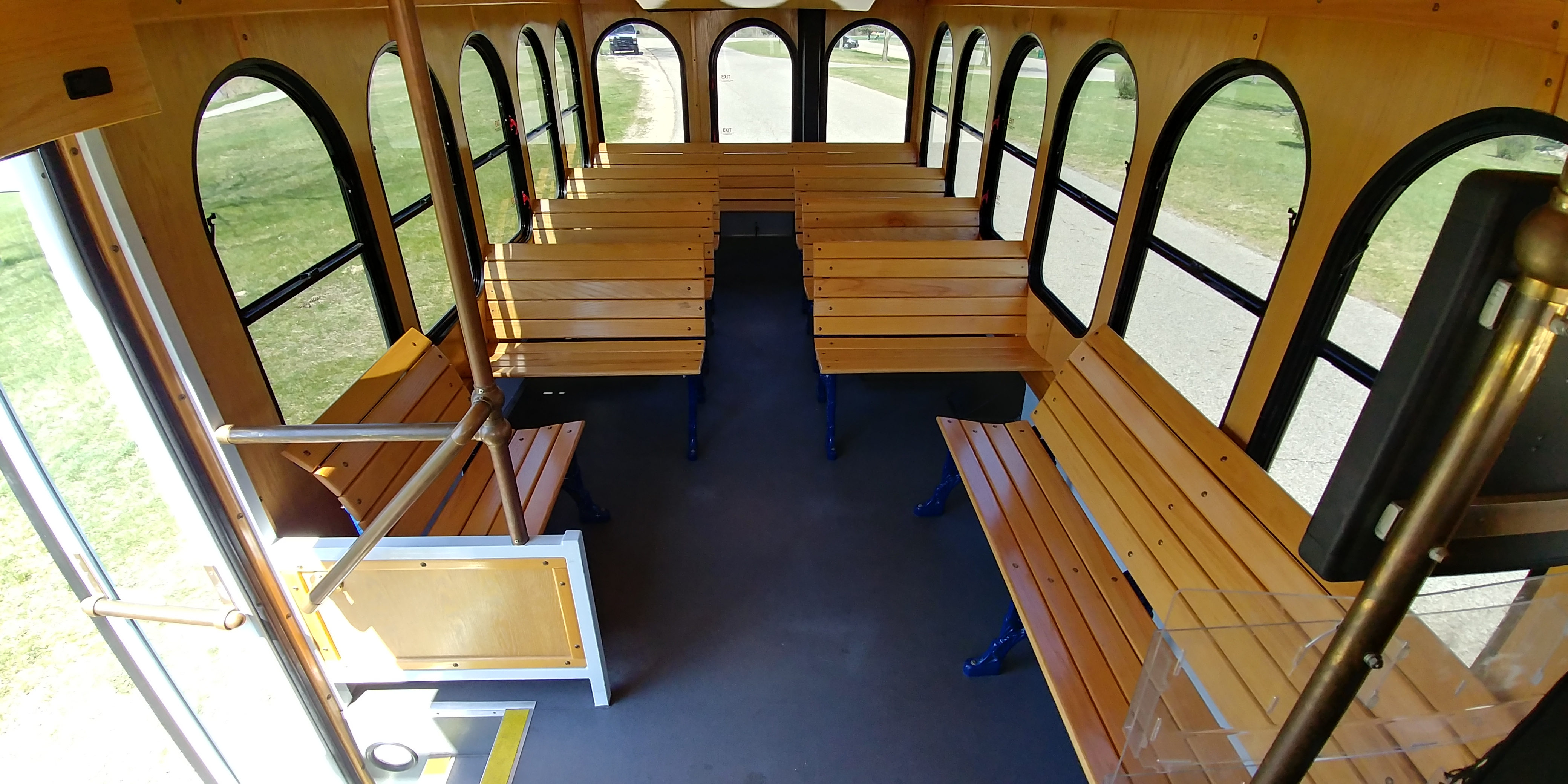 24 Passenger Trolley Interior 2