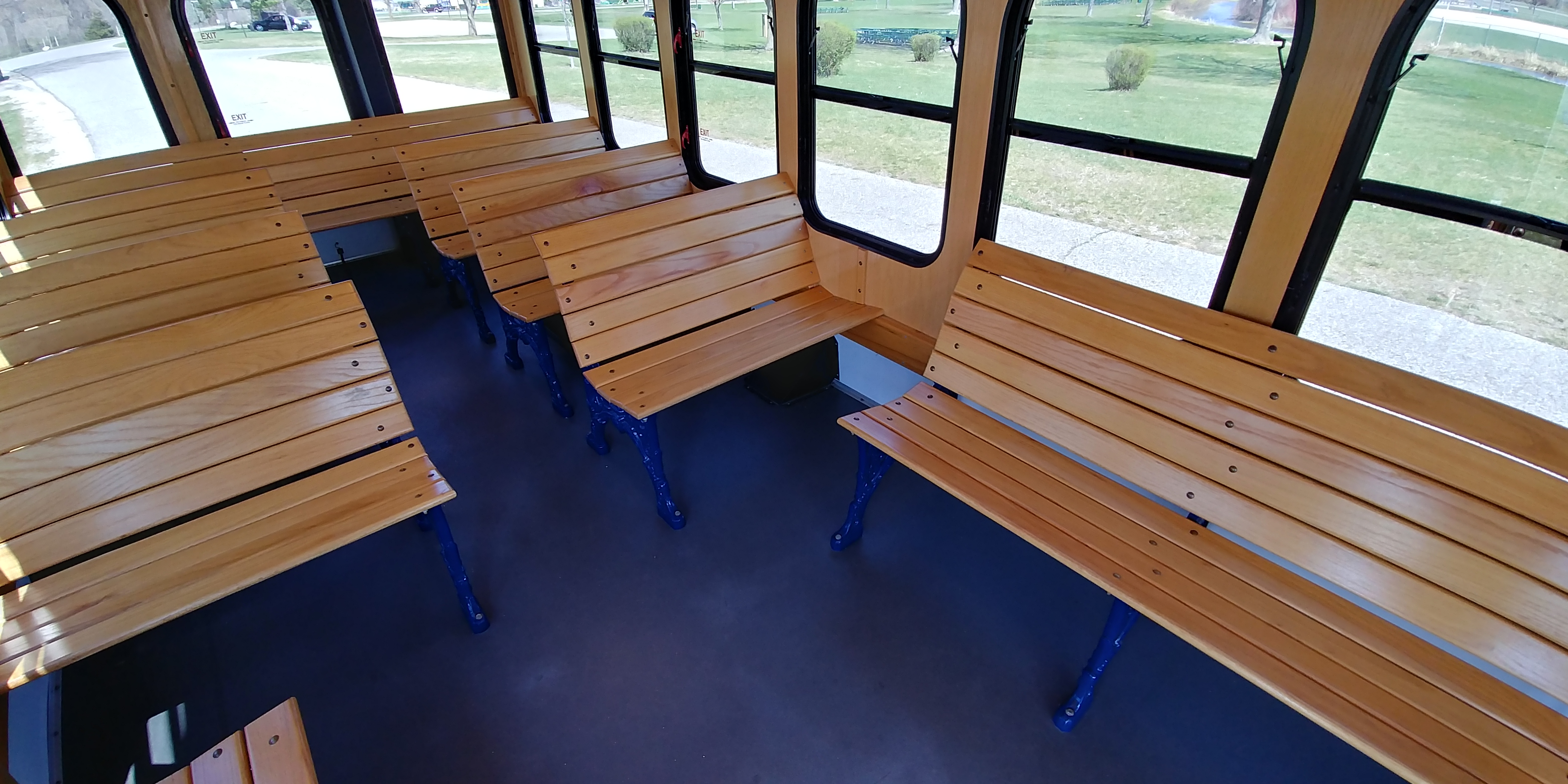 24 Passenger Trolley Interior 4