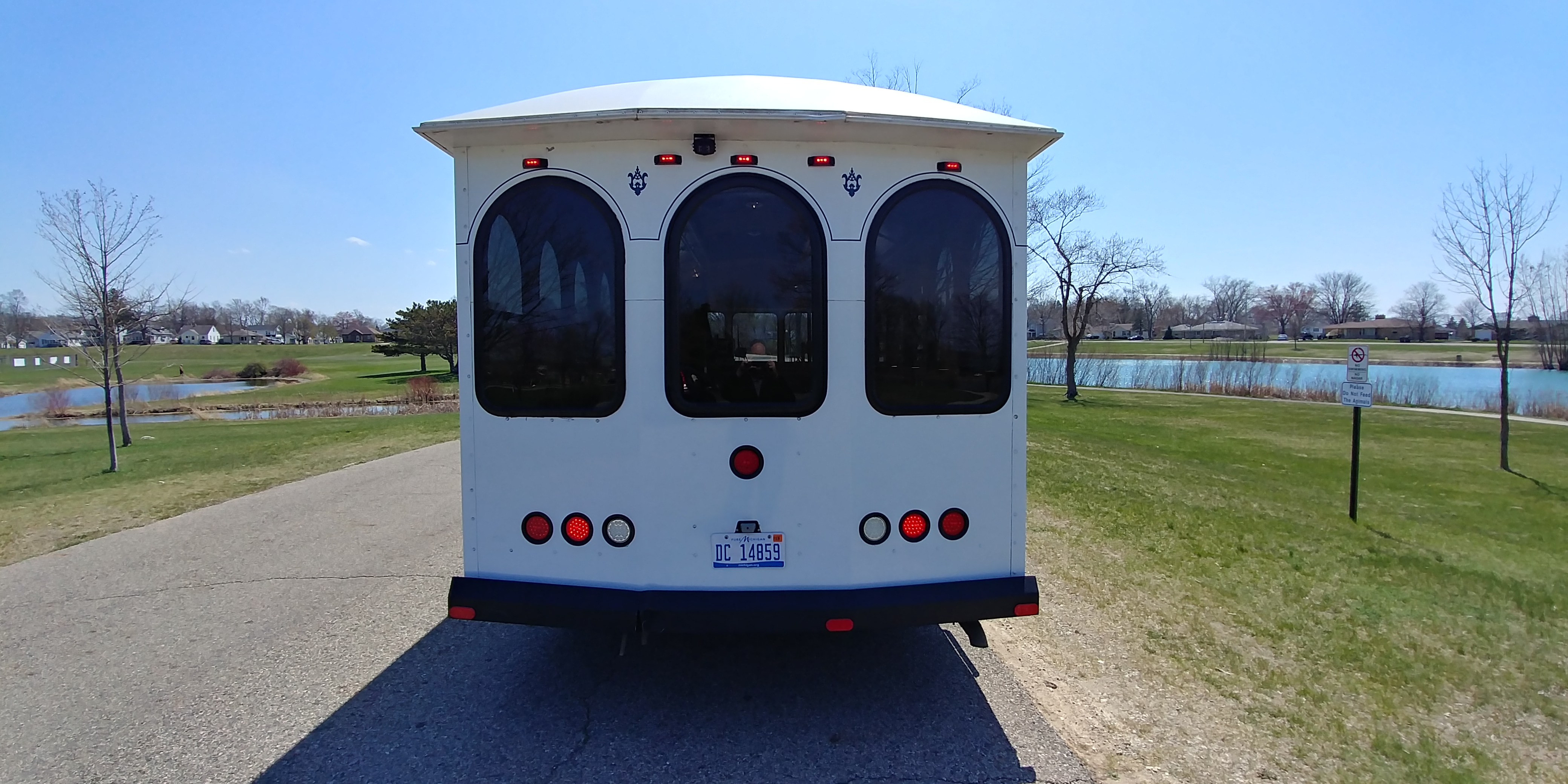 24 Passenger Trolley Rear