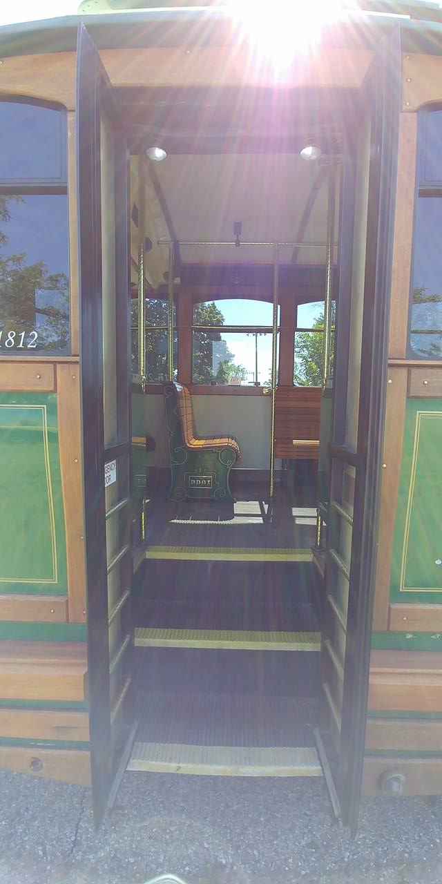 25 Passenger Trolley (#25) Rear Entrance