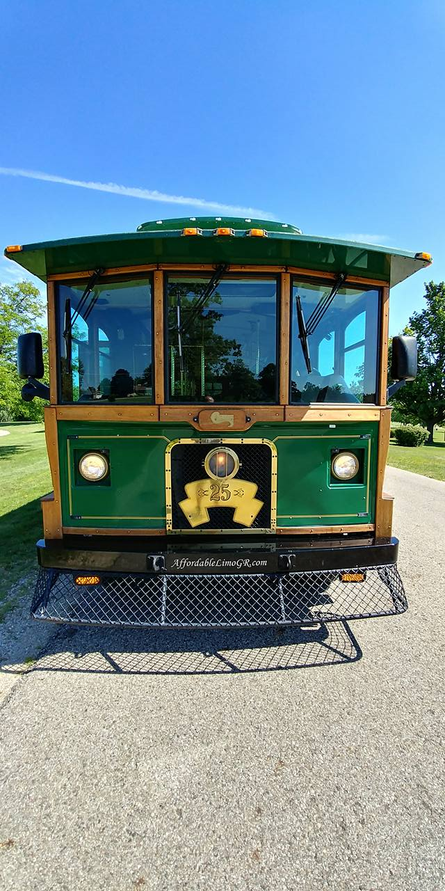 25 Passenger Trolley (#25) Front