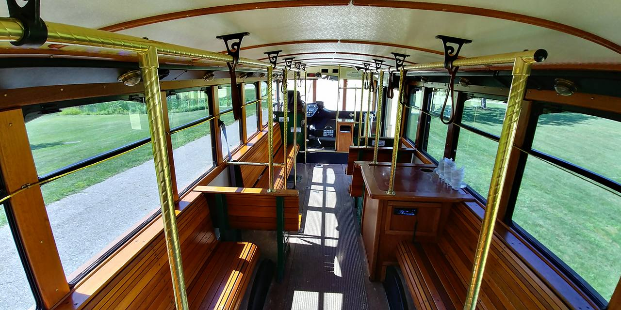 25 Passenger Trolley (#25) Interior 2