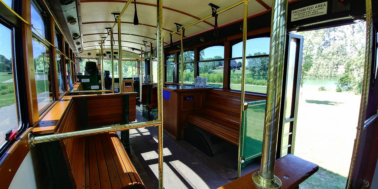 25 Passenger Trolley (#25) Interior 3
