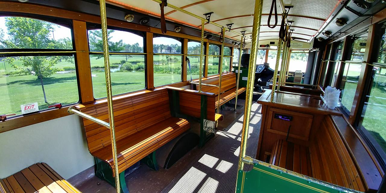 25 Passenger Trolley (#25) Interior 4
