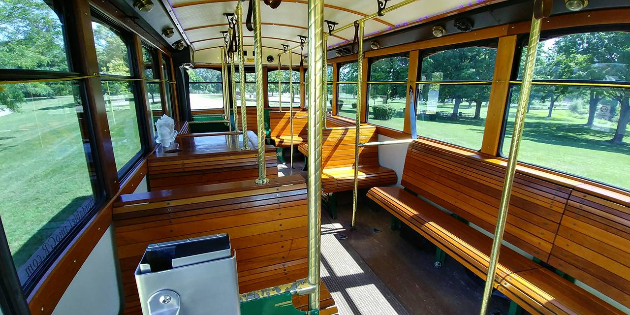 25 Passenger Trolley (#25) Interior 5