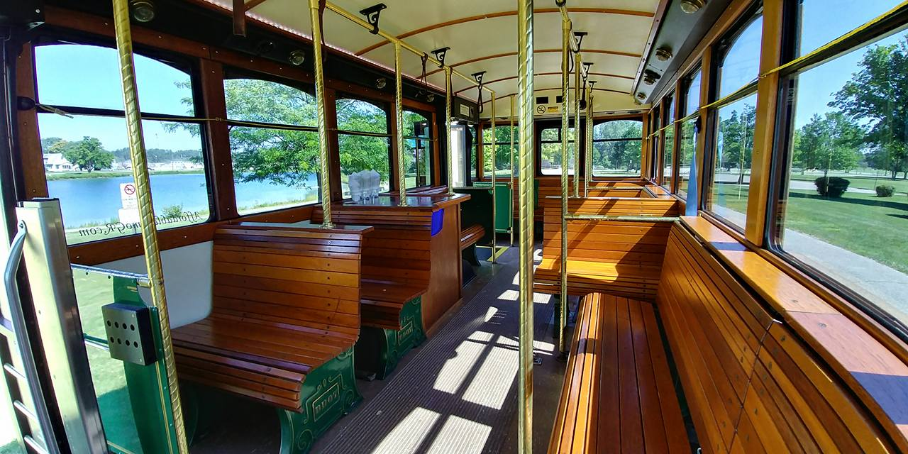 25 Passenger Trolley (#25) Interior 6