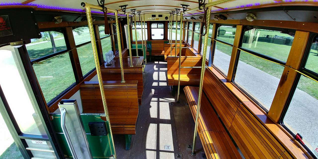 25 Passenger Trolley (#25) Interior 7
