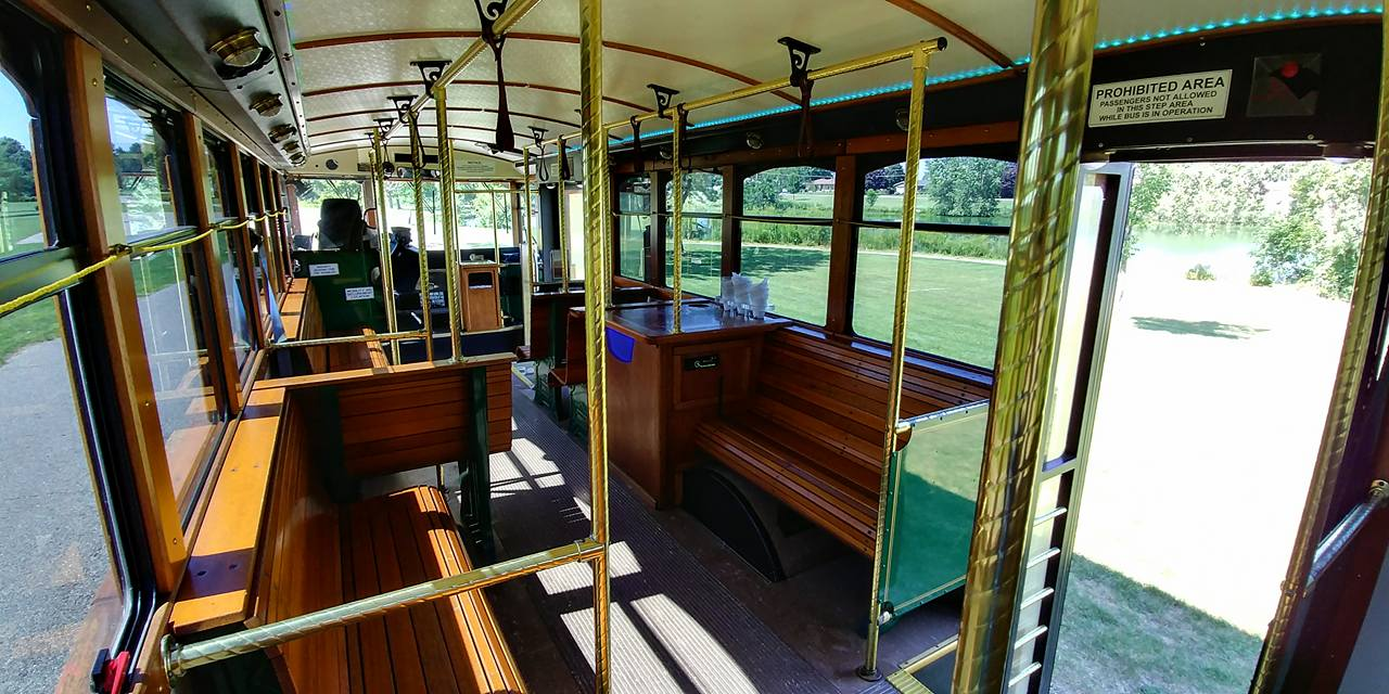 25 Passenger Trolley (#25) Interior