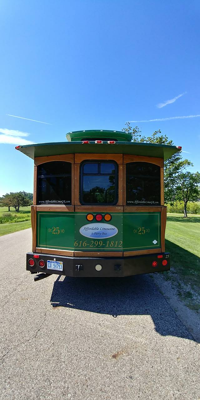 25 Passenger Trolley (#25) Rear