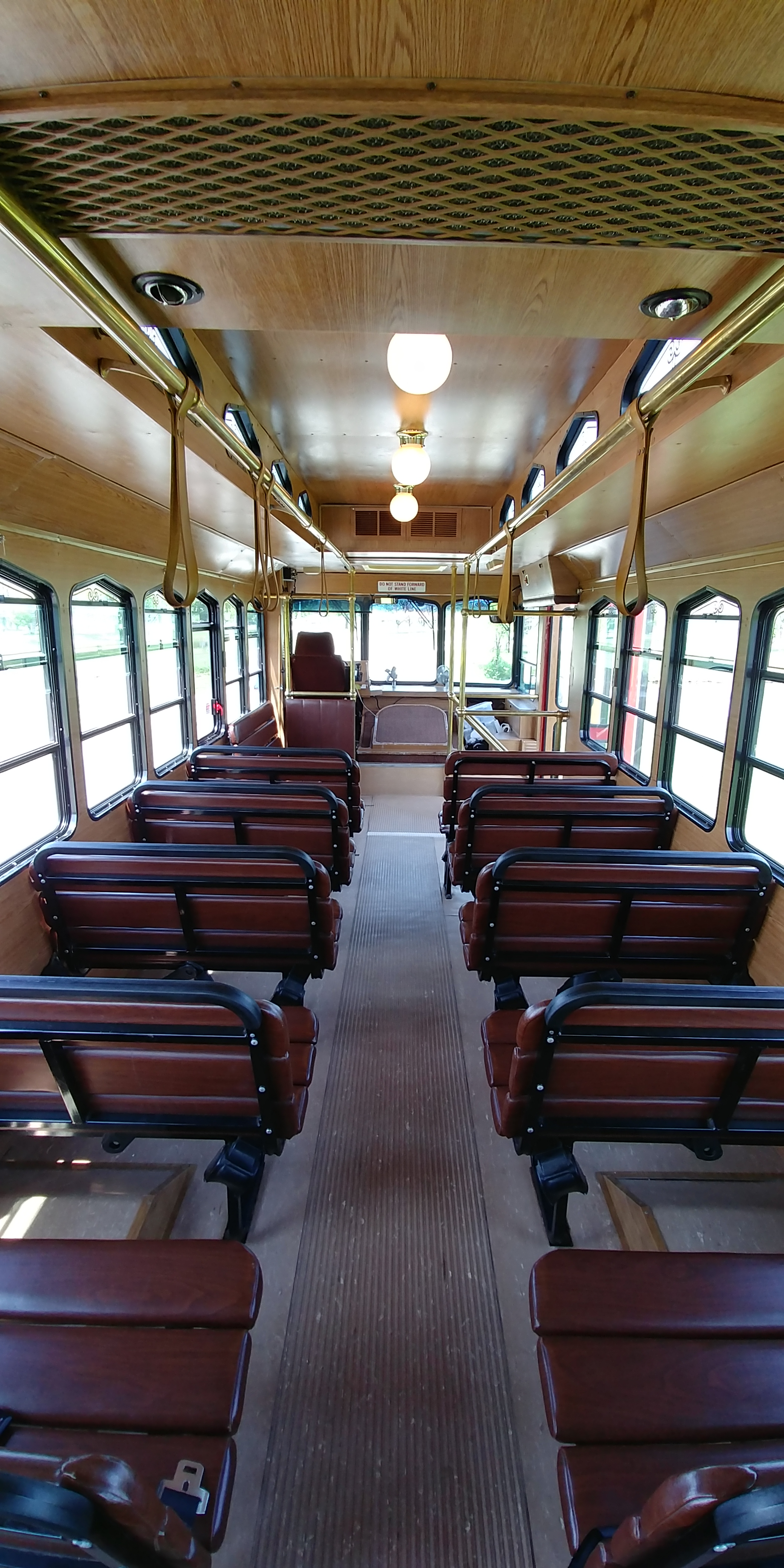 27 Passenger Trolley Interior 4