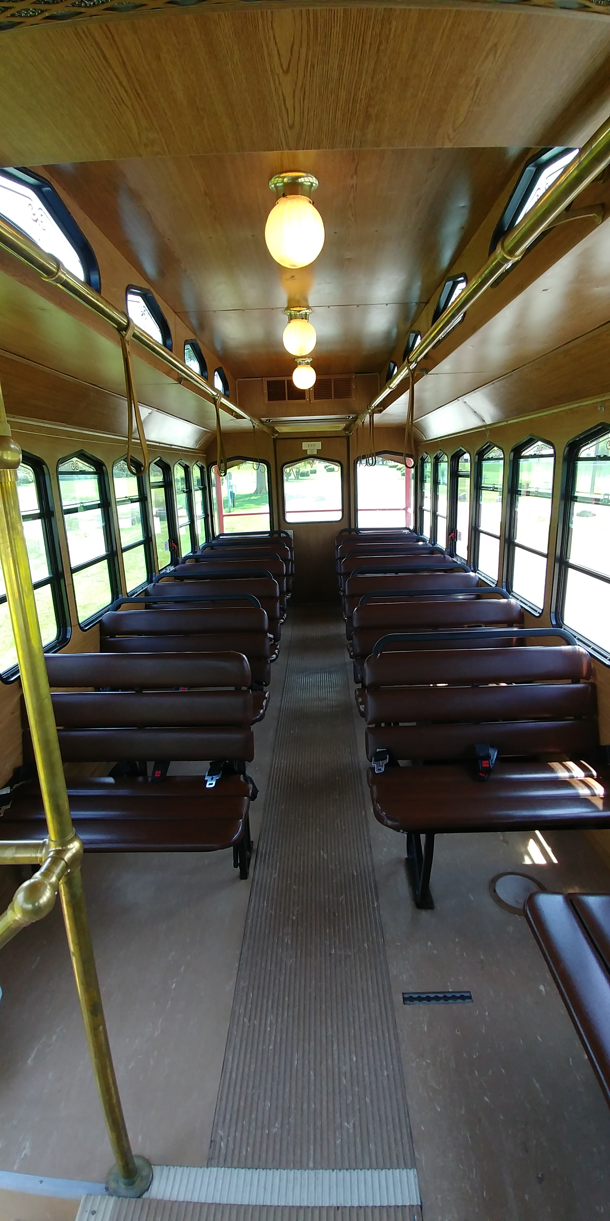 27 Passenger Trolley Interior 5