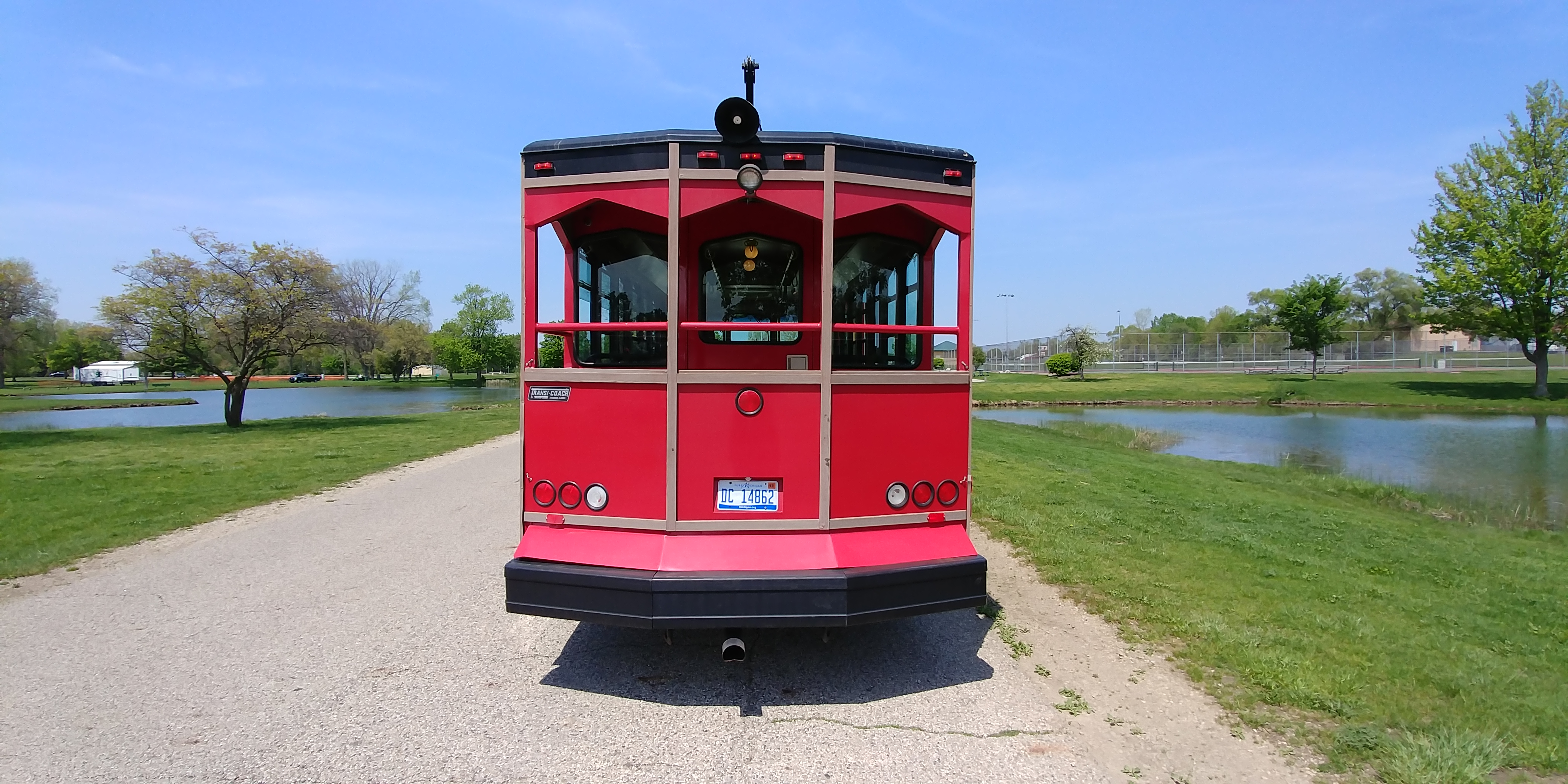 27 Passenger Trolley Rear