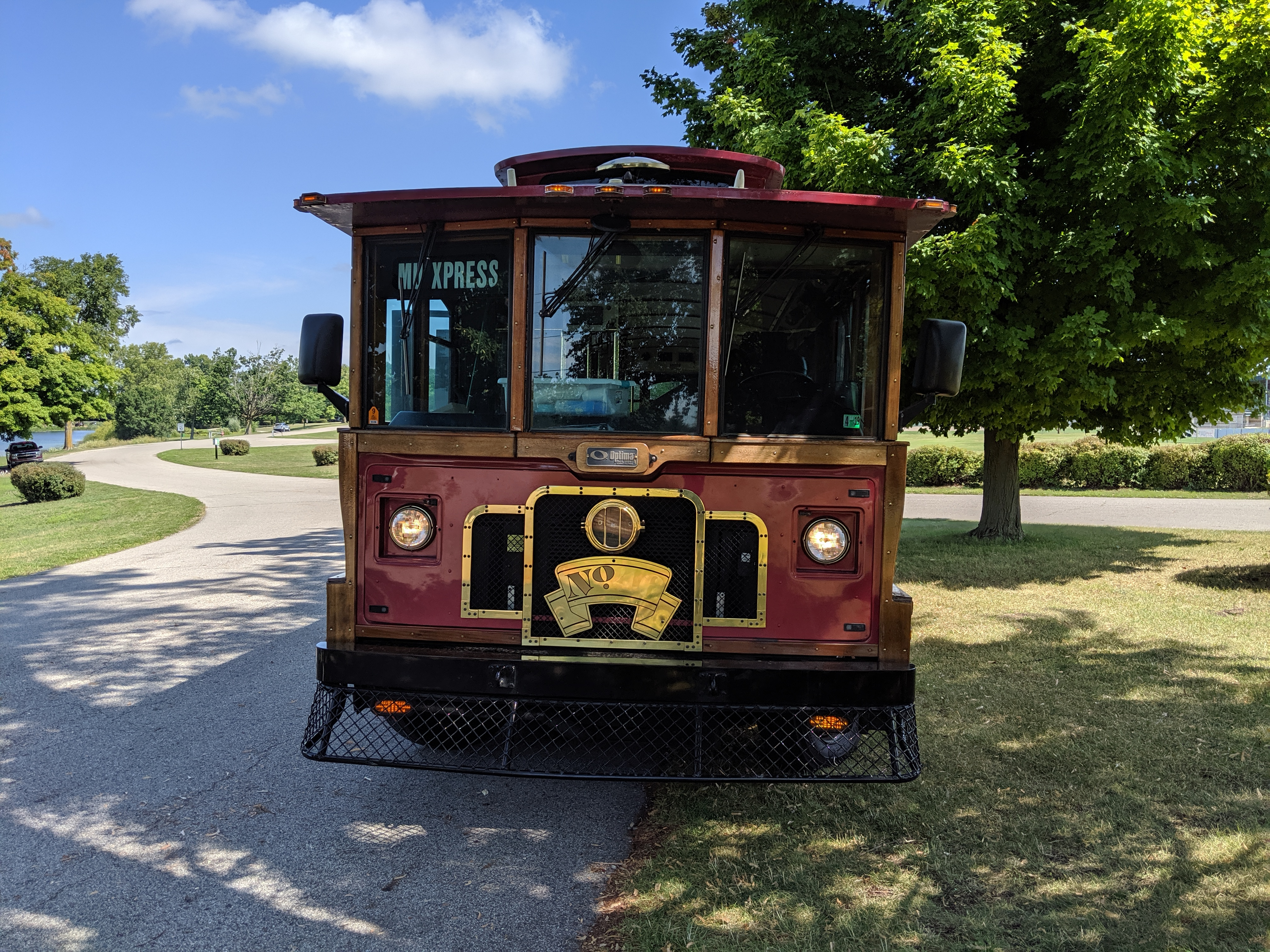27 Passenger Trolley #27-3 Front