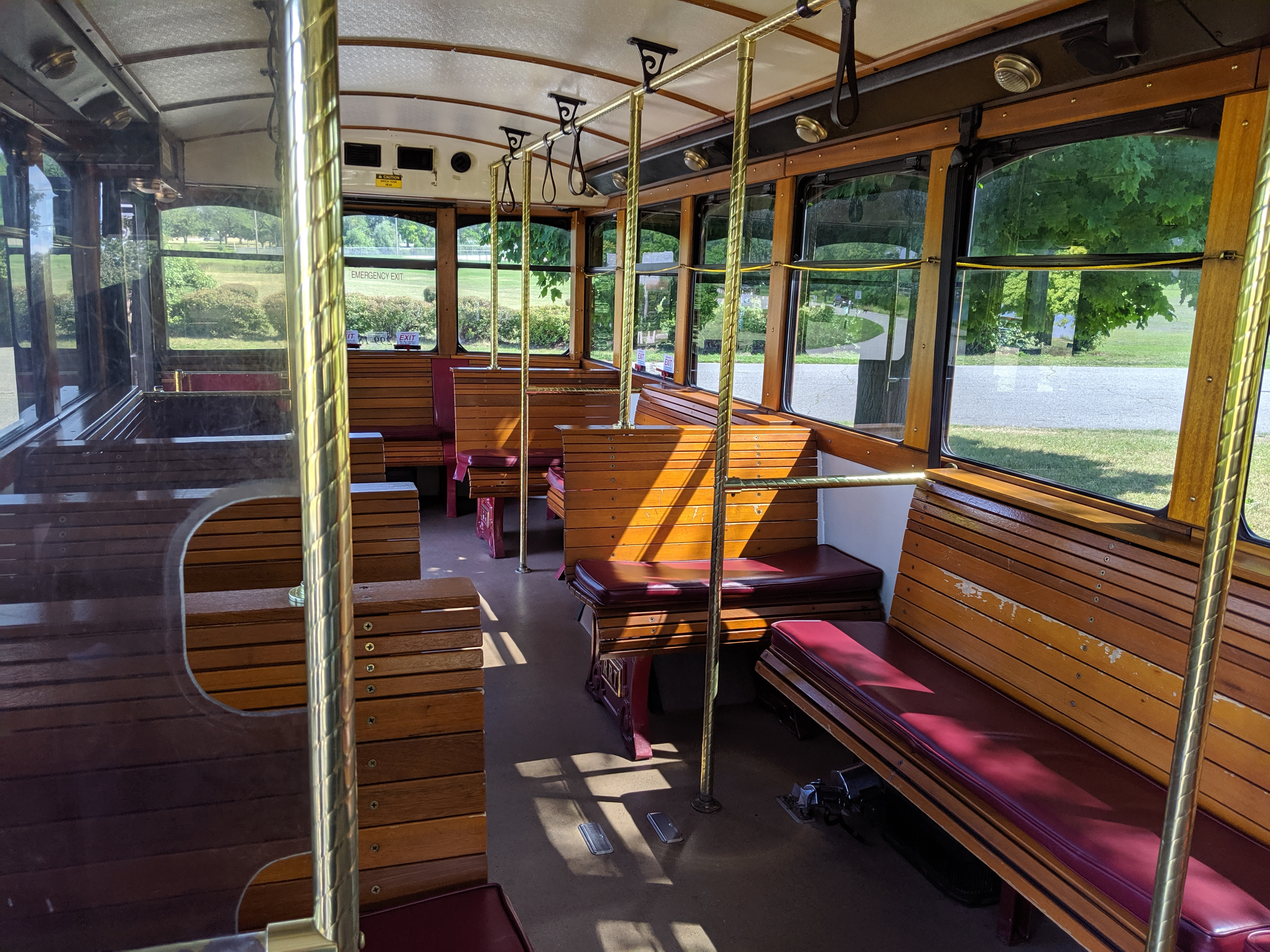 27 Passenger Trolley #27-3 Interior 1
