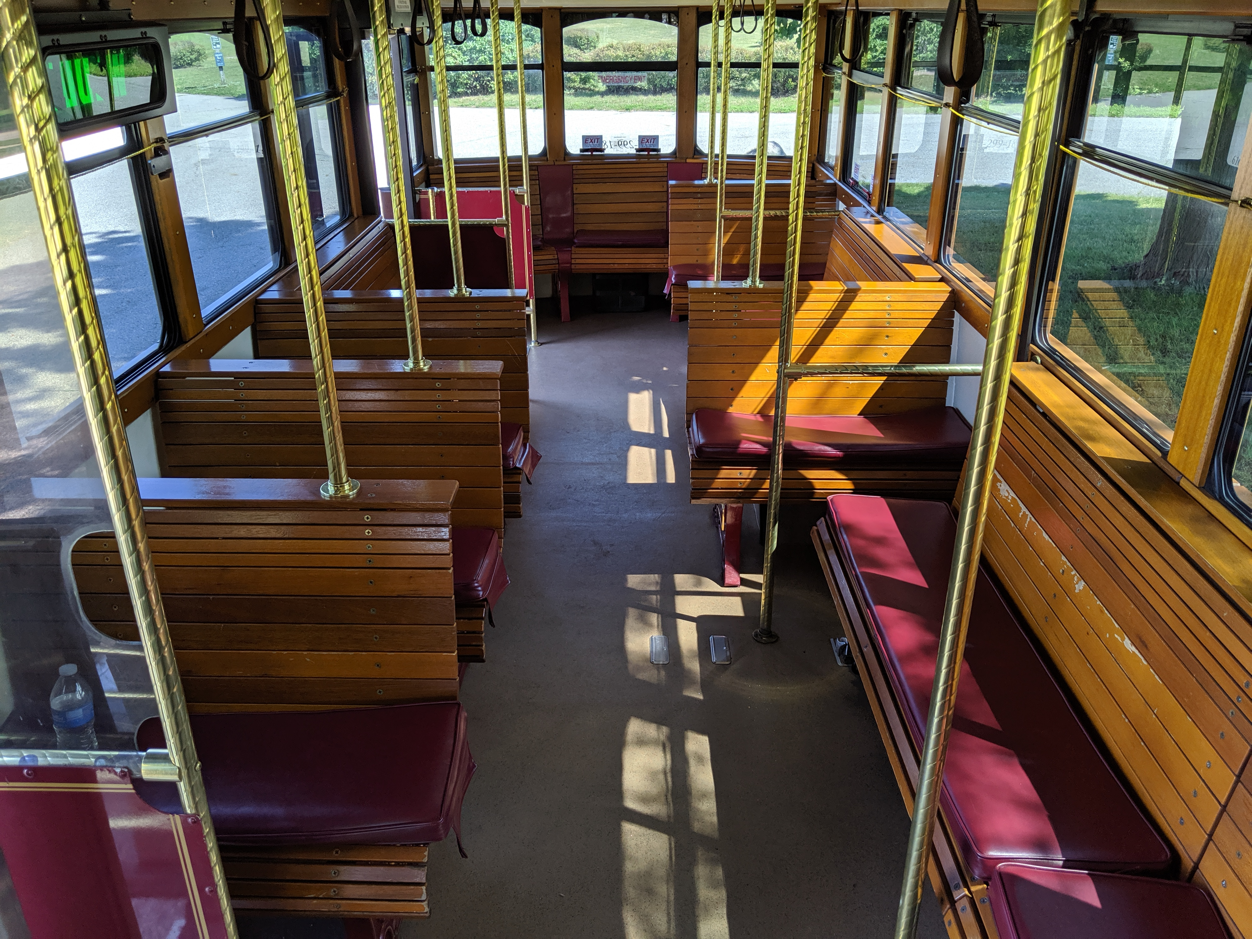 27 Passenger Trolley #27-3 Interior 2