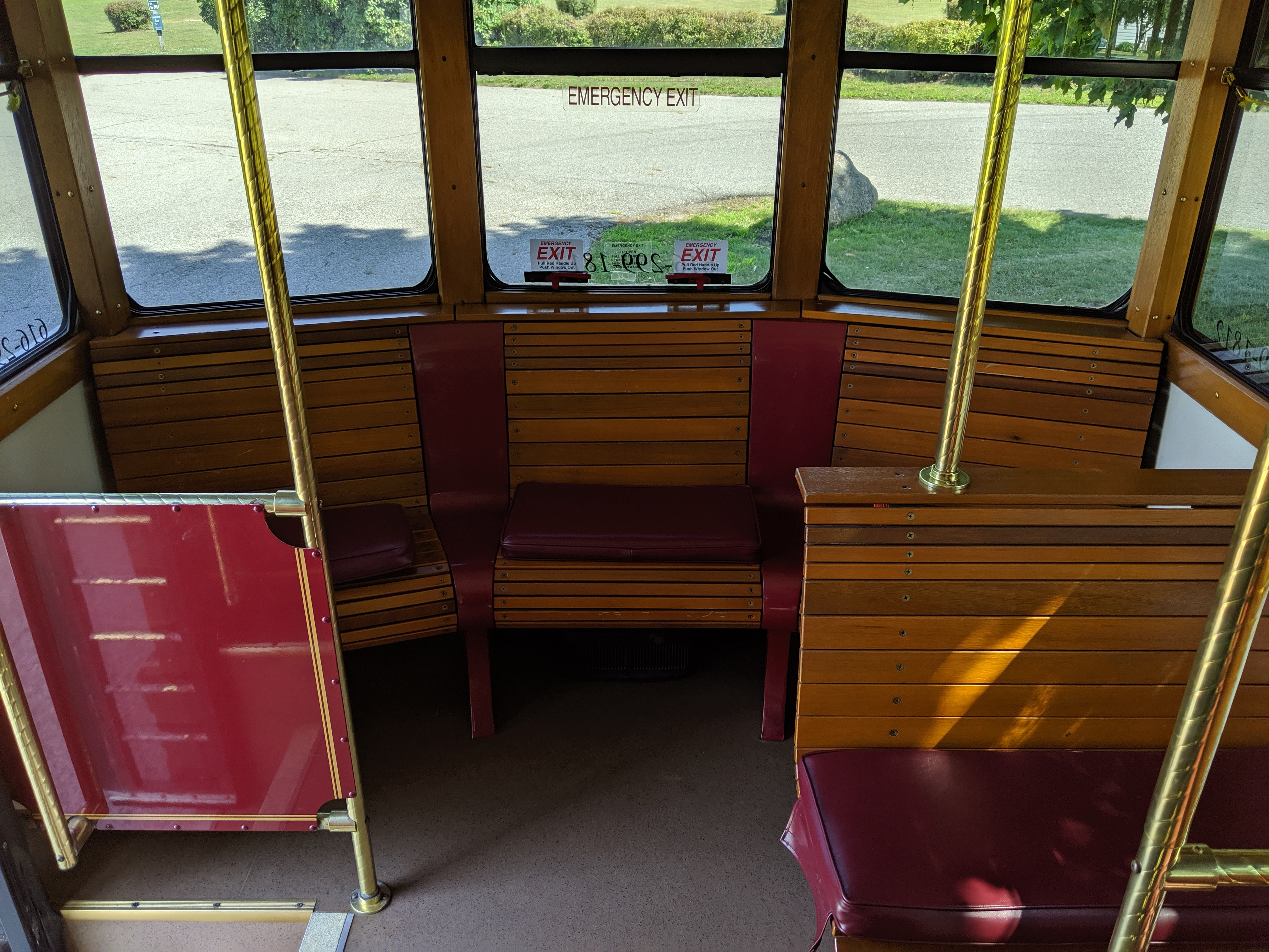 27 Passenger Trolley #27-3 Interior 3
