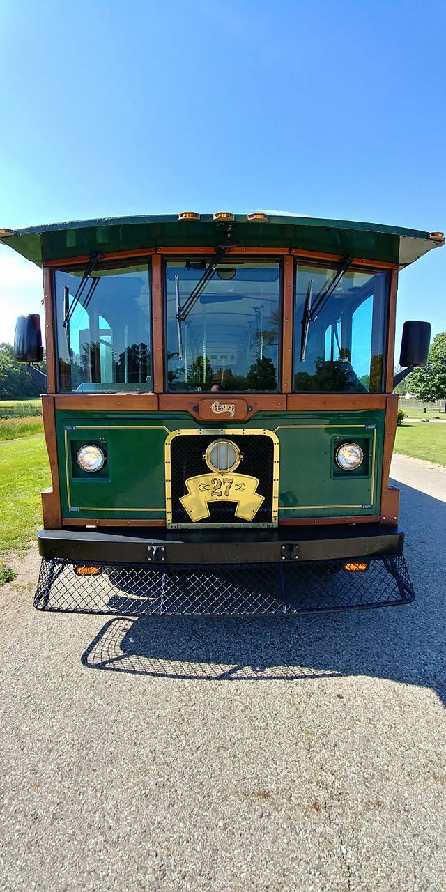 25 Passenger Trolley (#27) Front