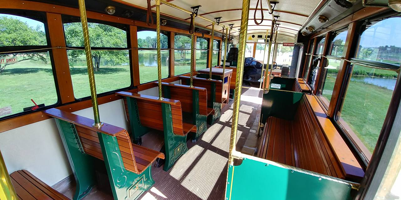 25 Passenger Trolley (#27) Interior 1