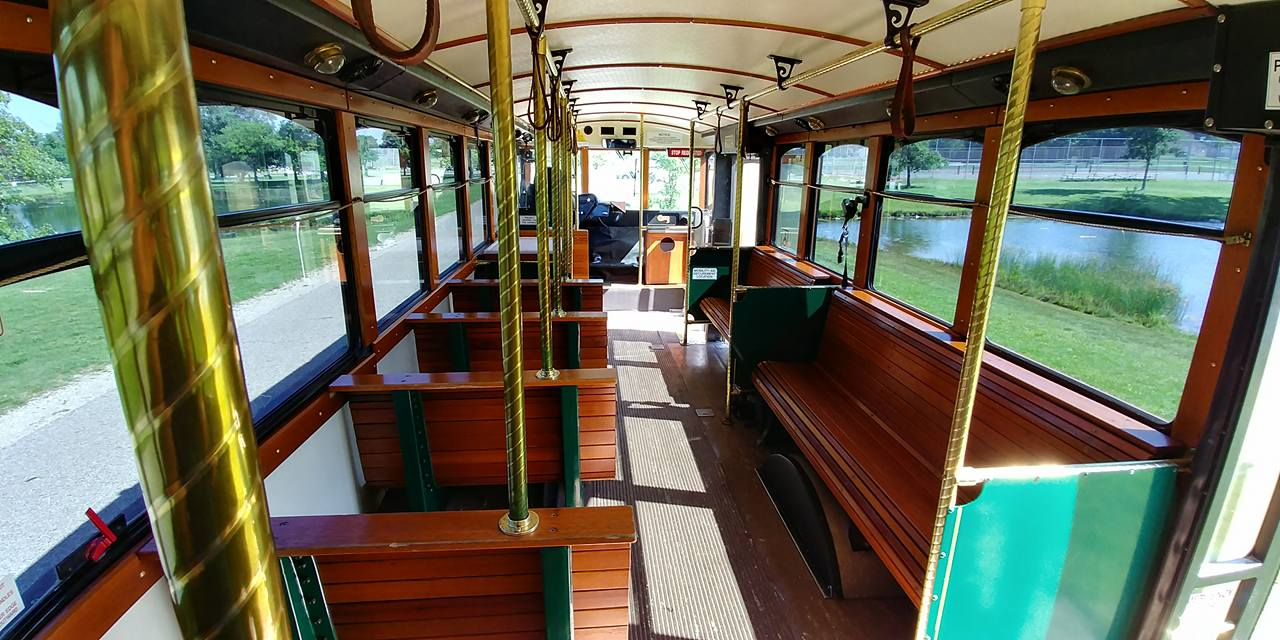 25 Passenger Trolley (#27) Interior 2