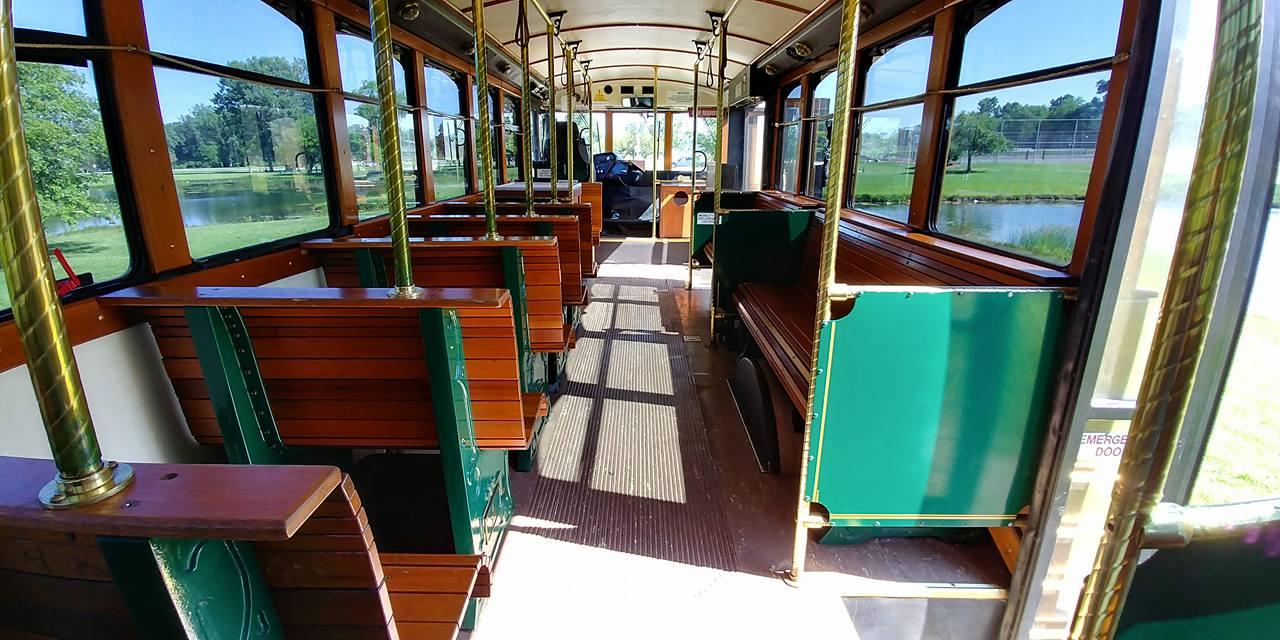 25 Passenger Trolley (#27) Interior 3