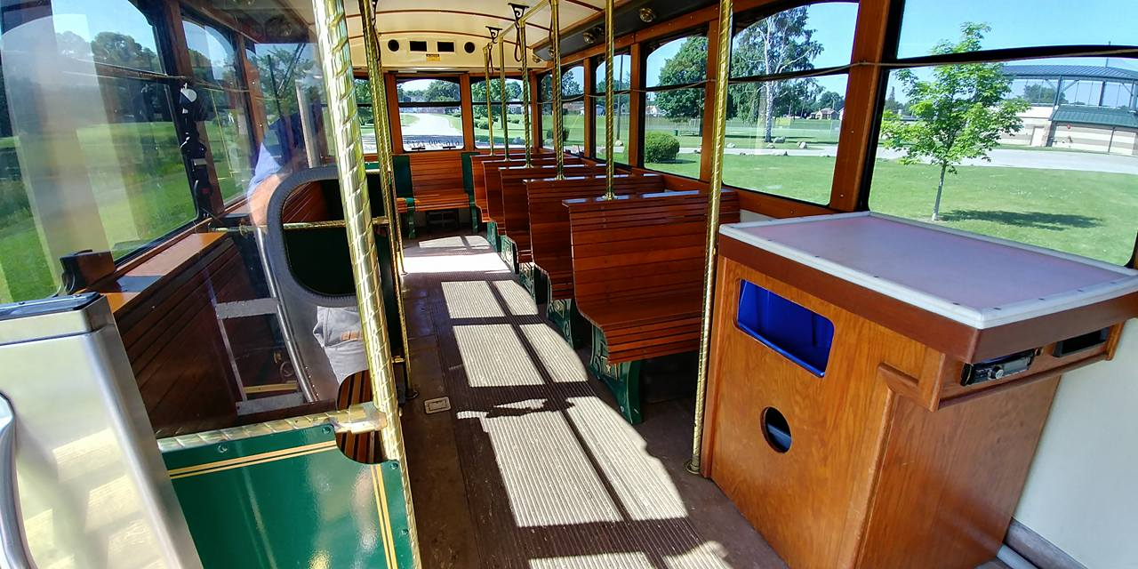 25 Passenger Trolley (#27) Interior 4