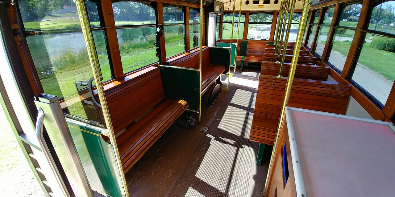 25 Passenger Trolley (#27) Interior 5
