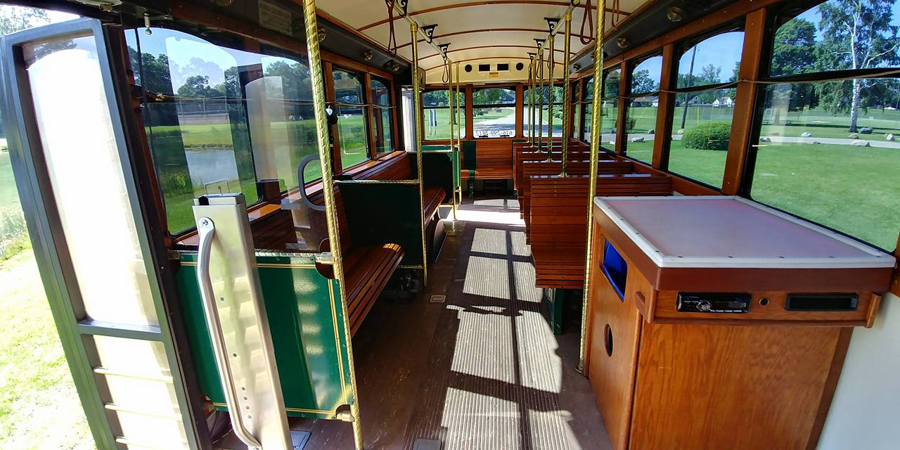 25 Passenger Trolley (#27) Interior 6