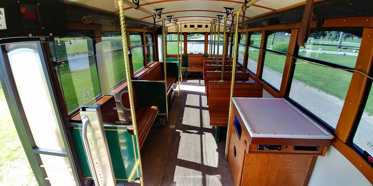 25 Passenger Trolley (#27) Interior 7