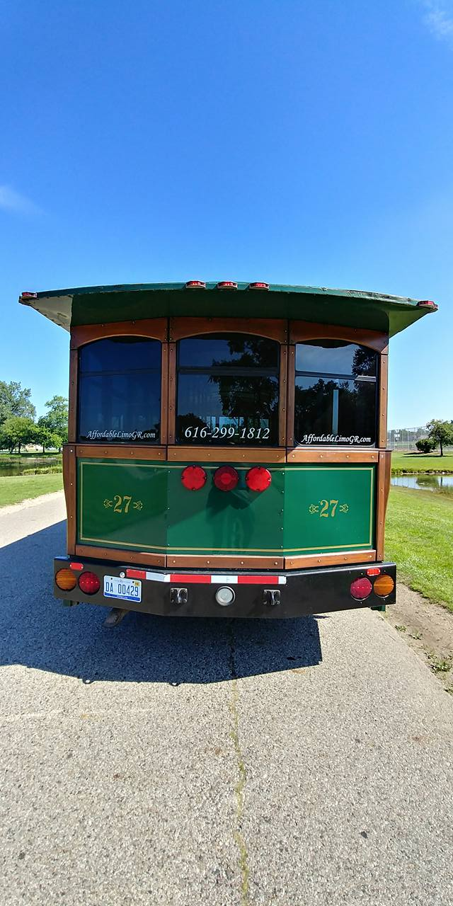 25 Passenger Trolley (#27) Rear