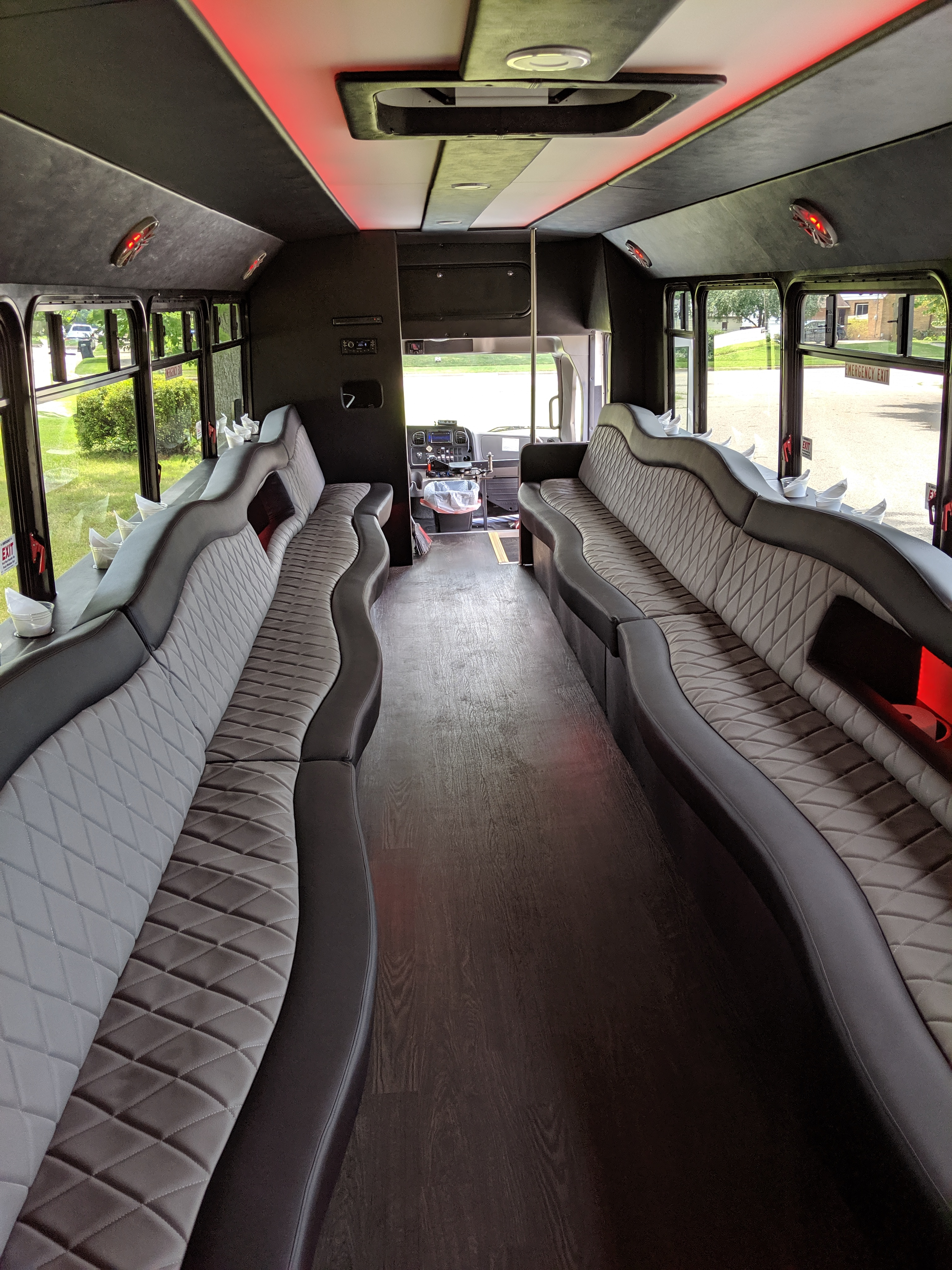 30 Passenger Luxury Limo Bus Interior 5